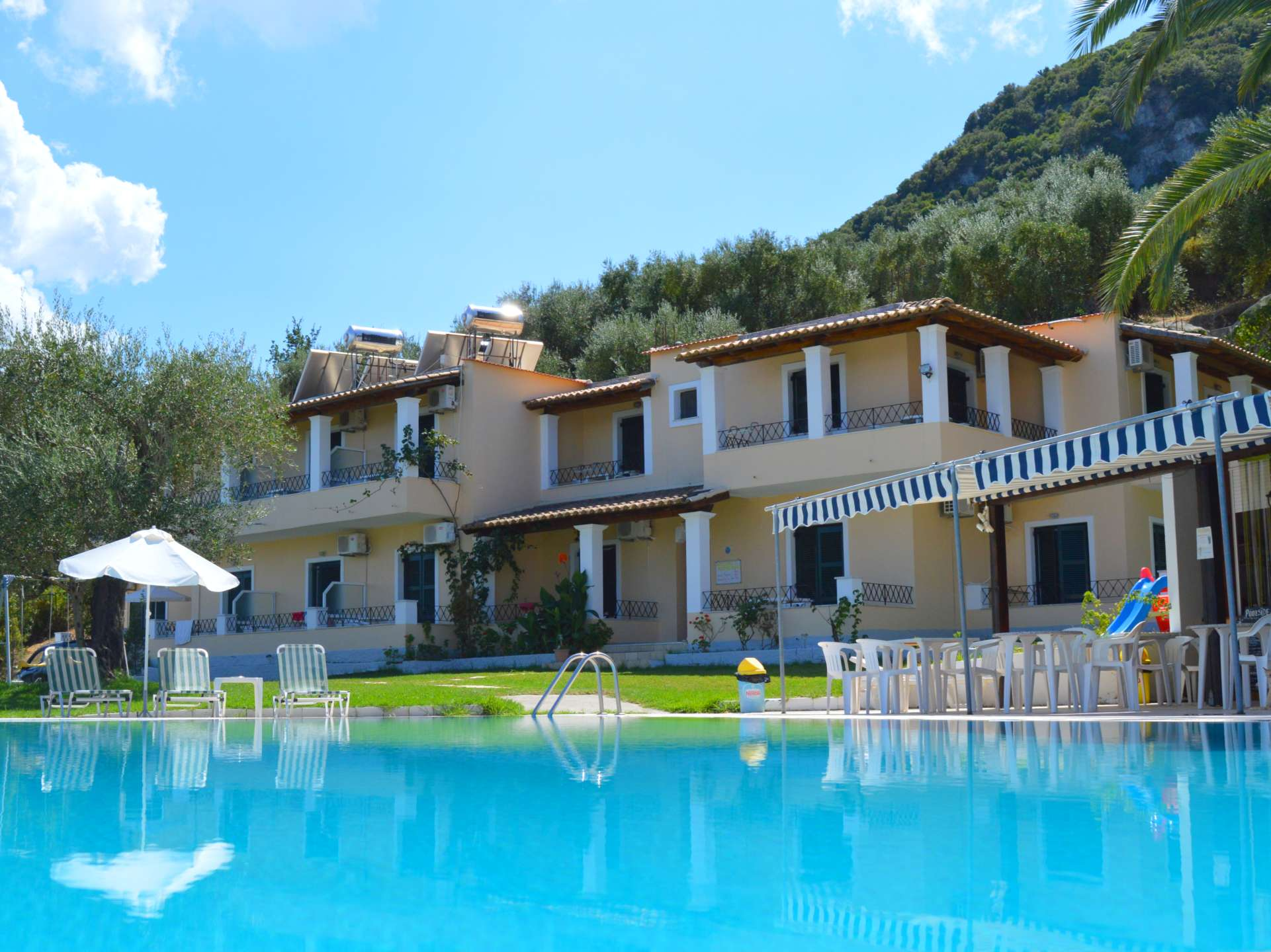 rising sun apartments studios benitses corfu greece